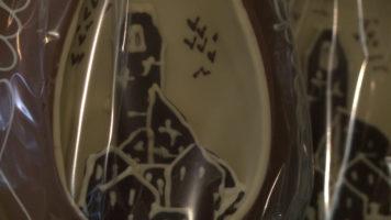 Pasqua: la Torre del Cassero sulle uova di cioccolata