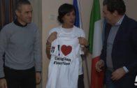 Il Comune di Castiglion Fiorentino ha ricevuto Federica Moroni allenata da Vittorio Polvani
