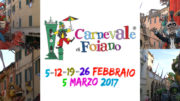 Carnevale di Foiano della Chiana, ecco i carri in concorso