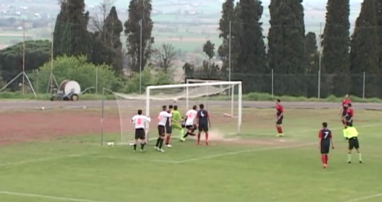 Il Cortona supera il Bibbiena 2-0