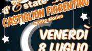 Serata d'estate a Castiglion Fiorentino