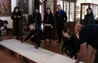 preparazione mostra etruschi